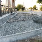 Ein Parkplatz ist fertig, ein anderer wird fertiggestellt