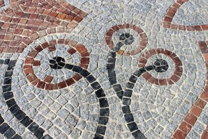 Blumen aus Stein, Mosaikbilder
