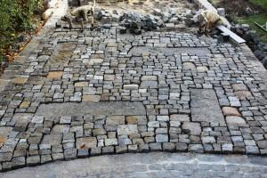 Granitpflaster, Steinsetzer