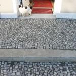 Grauwacke ergibt ein feines Mosaik