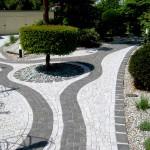 Mosaikgestaltung gartenwege_Mosaikpflaster