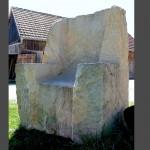 Sandsteinsessel